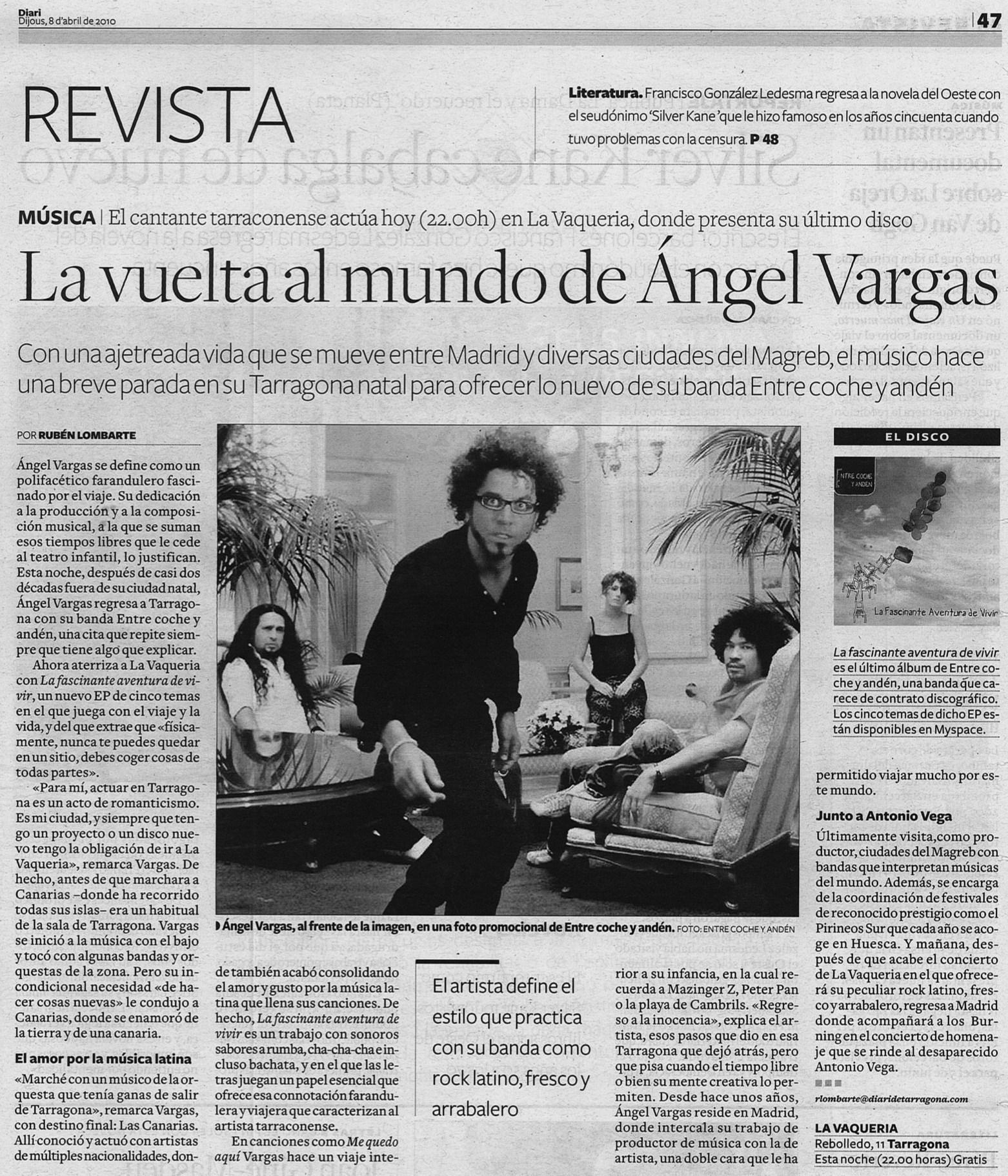 3. Diari de Tarragona 8 de abril 2010