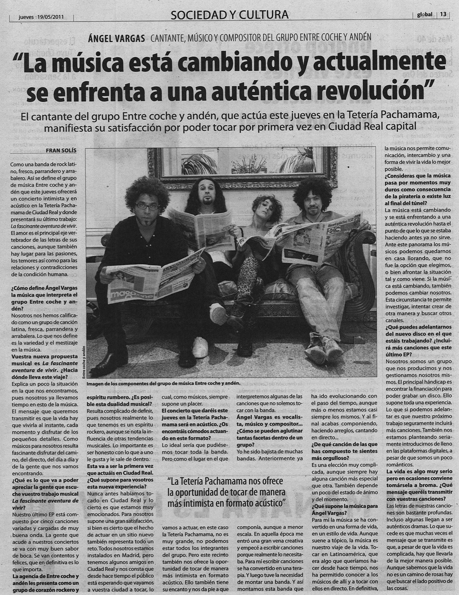 7. Global Castilla la Mancha 19 de mayo de 2011